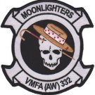 USMC VMFA(AW)-332 Marine All Weather Fighter Attack Squadron Patch