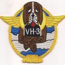 US Navy VH-3 Sea King Helicopter Air Sea Rescue Squadron Patch