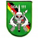 US Army Co A 1st Bn 1st SFG Operational Det Alpha SFG ODA-111 Military Patch