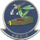 USMC VMU-4 Marine Unmanned Aerial Vehicle Squadron 4 Patch