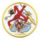 USMC VMF-321 Marine Fighter Squadron Patch