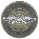 USMC US Navy FMF Fleet Marine Force Corpsman Patch DEVIL DOG