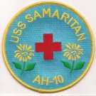 US Navy AH-10 USS USS Samaritan Hospital Ship Patch