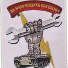 USMC 2D Maintenance Battalion Patch