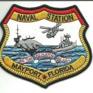 US Navy Naval Station Mayport Florida 1 Team 1 Purpose 1 Navy Patch