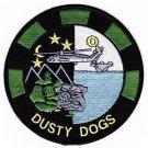US Navy HS-7 US Anti-Submarine Warfare Aviation Sq DUSTY DOGS Patch