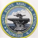 US Navy Naval Air Station Wildwood New Jersey Patch