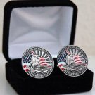 United in Memory of 911 September 11 2001 Cuff Links