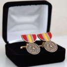 National Defense Mini Medal Cuff Links