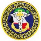 USMC Camp Pendleton Detachment Expeditionary Medical Facility Kuwait Patch