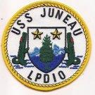 US Navy LPD-10 USS Juneau Patch