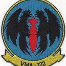 USMC VMA-322 Marine Attack Squadron 322 Patch