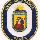 US Navy T-AKE-2 USNS Sacagawea Patch