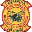 USMC Combat Helicopter Association Afghanistan Patch