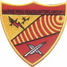 USMC MWHG 1 Marine Wing Headquarters Group Patch