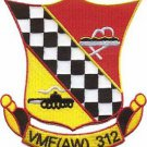 USMC VMFA Marine Fighter Attack 312 Squadron Fights On Patch