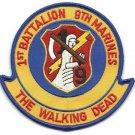 USMC 1st Battalion 9th Marines The Walking Dead Patch