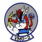 USMC VMO-2 US Marine Corps Observation Squadron Two Military Patch VMO DEVIL