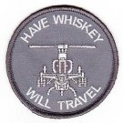 USMC HMLA-168 Light Attack Helicopter Squadron Have Whiskey Wil Travel ACU Patch