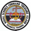 US Navy Naval Schools Command NSC Treasure Island Patch