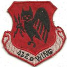USAF 432nd TACTICAL RECON WING Vietnam War Patch