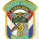US Army Airborne Special Forces Medic Patch