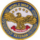 USMC World War II Veteran Patch