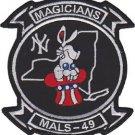USMC MALS 49 Marine Aviation Logistics Squadron Magicians Patch