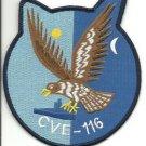 US Navy CVE - 116 USS Badoeng Strait Patch