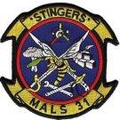USMC MALS-31 Marine Aviation Logistics Squadron Patch