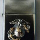 USMC Marine Corps Eagle Globe and Anchor Emblem Lighter
