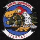 US Navy Aviation Ordnancemen IYAOYAS Patch