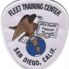USMC Fleet Training Center San Diego CA Patch