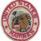 USMC United States Marines Bulldog Vintage Vietnam Patch
