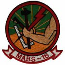 USMC MABS-16 Marine Air Base Squadron Patch