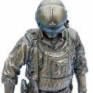 USMC Helicopter Crewman Vietnam Large Bronze Statue