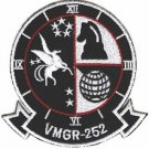 USMC VMGR 252 Marine Aerial Refueler Transport Squadron Otis Patch