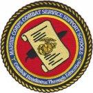 USMC Combat Support Schools Camp Johnson Patch