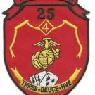 USMC 3rd Battalion, 25th Marines 3-25 Three Deuce Five Patch