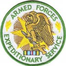 United States Armed Forces Expeditionary Service Military Medal Patch