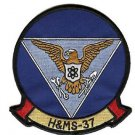 USMC HAMS-37 Headquarters and Maintenance Squadron Patch
