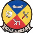 USMC HAMS-15 Headquarters and Maintenance Squadron Patch
