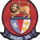 USMC HAMS-24 Headquarters and Maintenance Squadron Patch