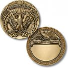 US Army Warrant Officer Corps Engravable Challenge Coin