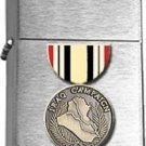 Brushed Chrome Iraq Campaign Star Lighter