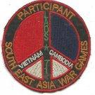 U.S. MAAG WAR GAMES PARTICIPANT, Loas, Vietnam, Cambodia Vintage Vietnam Patch