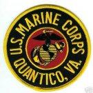USMC U.S. Marine Corps Quantico, VA Patch