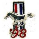 Ford Mustang Logo 1998 Pin