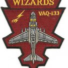 US Navy VAQ-133 Electronic Attack Squadron 133 WIZARDS Patch