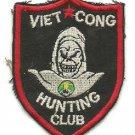 Vintage Viet Cong Hunting Club Vietnam Patch